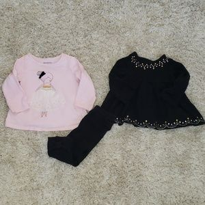 First impressions 3-6M mix and Match three pieces